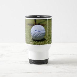 On the Golf Course Travel Mug