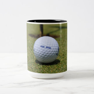On the Golf Course Two-Tone Coffee Mug