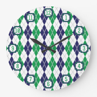 On the Green Argyle Clock