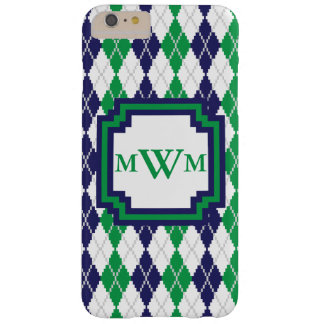 On the Green Argyle iPhone Case-Mate Case