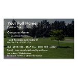 On the green, Ottawa, Ontario, Canada Business Cards