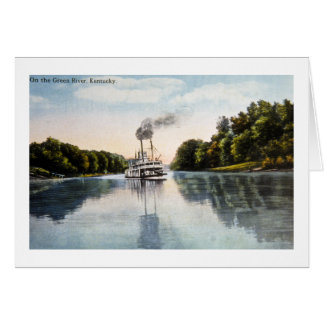 On the Green River, Kentucky Card
