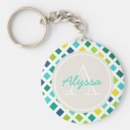 On the Grid Keychain