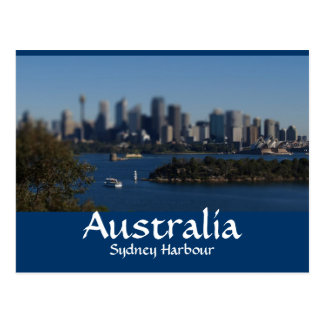 ON THE HARBOUR POSTCARD