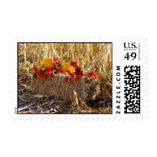 On the Hay Bale Postage