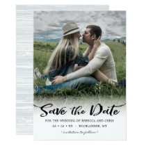 On the Horizon, Photo Save the Date Invitation
