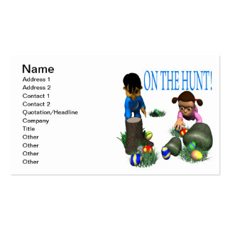 On The Hunt Business Card Template