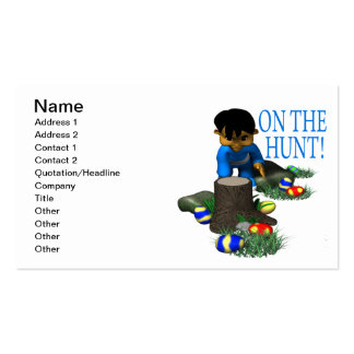 On The Hunt Business Card Templates