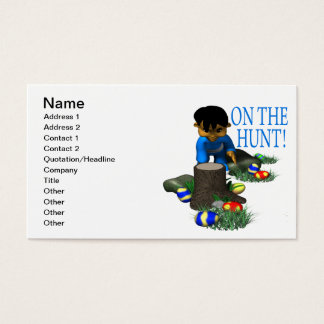 On The Hunt Business Card