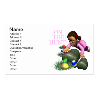 On The Hunt Business Cards