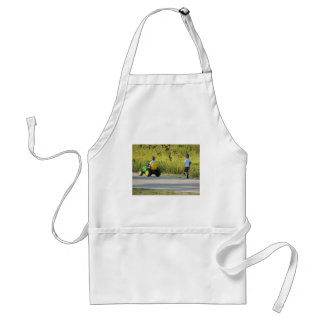 On the Hunt by Leslie Peppers Adult Apron