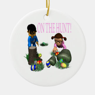 On The Hunt Christmas Ornament