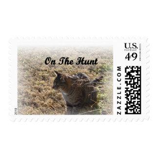 On The Hunt Postage Stamp
