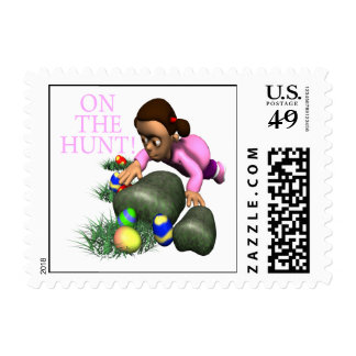 On The Hunt Postage Stamps