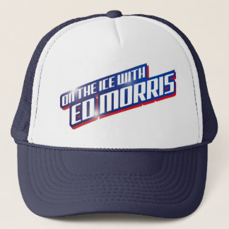 On the Ice with Ed Morris -trucker cap