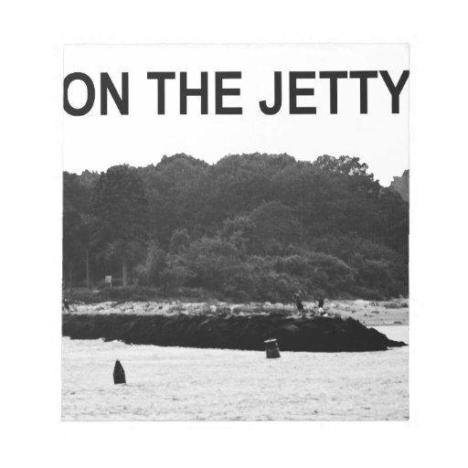 On The Jetty Note Pad