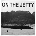 On The Jetty Printed Napkin