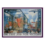 On The Job for Victory! Poster