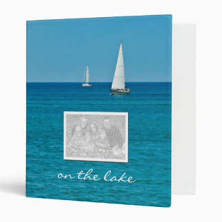 "On the lake custom photo (1"") binder"