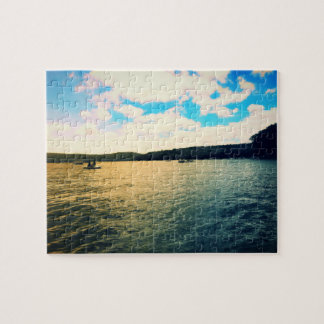 On the lake jigsaw puzzle