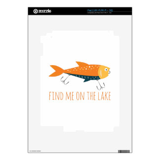 On The Lake Decals For iPad 2