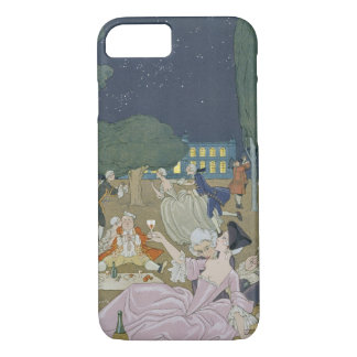On the Lawn, illustration for 'Fetes Galantes' by iPhone 8/7 Case