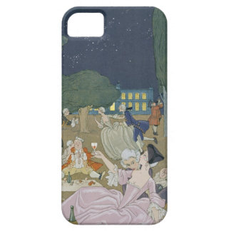 On the Lawn, illustration for 'Fetes Galantes' by iPhone SE/5/5s Case