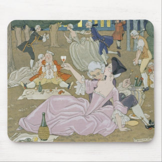 On the Lawn, illustration for 'Fetes Galantes' by Mouse Pad