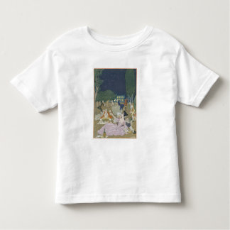 On the Lawn, illustration for 'Fetes Galantes' by Toddler T-shirt