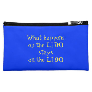 On the Lido Reversible Makeup Bag