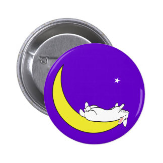 ON THE MOON PINBACK BUTTONS
