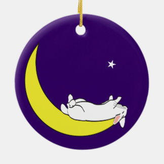 ON THE MOON CHRISTMAS ORNAMENT