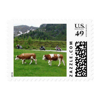 On the motorbike trough Austria 03 Postage Stamp