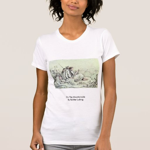 On The Mountainside By Richter Ludwig Shirt