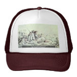 On The Mountainside By Richter Ludwig Trucker Hat
