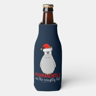 On The Naughty List Bottle Cooler