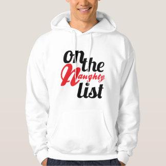 On the Naughty List hoodie