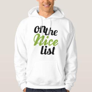 On the Nice List hoodie