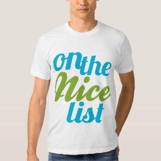 On the Nice List Tees