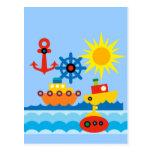 On the Ocean Post Card