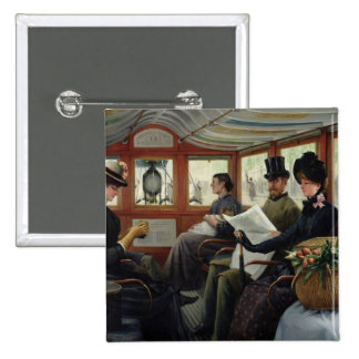 On the Omnibus, 1880 Button