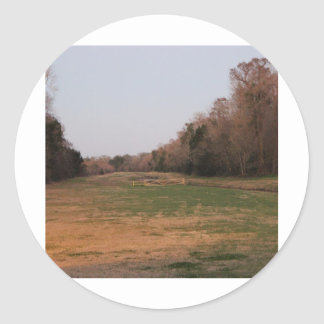 On the open range #2 classic round sticker