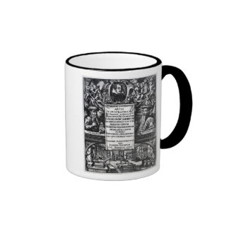'On the Origin and History of Typography' Ringer Coffee Mug