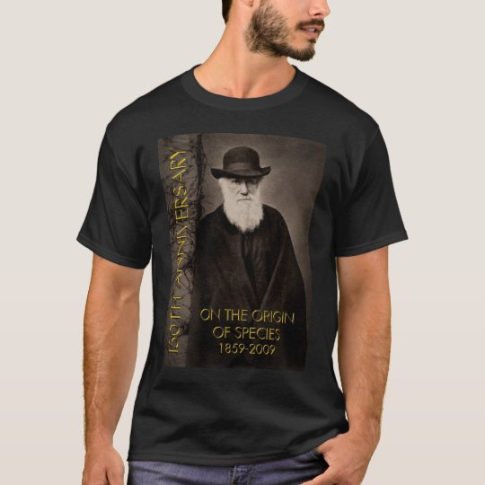 On the Origin of Species 150th Tshirt