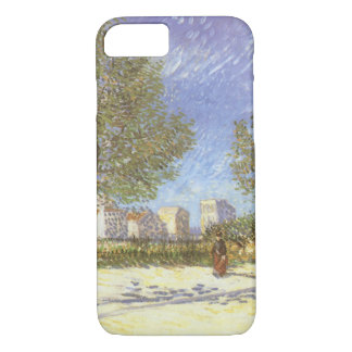 On the Outskirts of Paris by Vincent van Gogh iPhone 7 Case