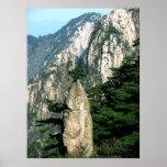 On the Peak - Huangshan Poster