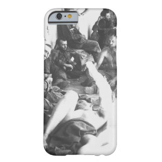 On the porch of an emergency hospital_War Image Barely There iPhone 6 Case