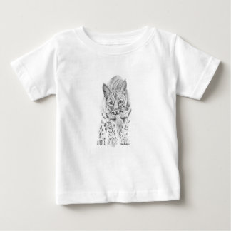 On the Prowl A Young Bobcat Baby T-Shirt