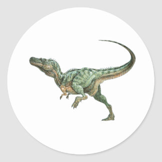 ON THE PROWL CLASSIC ROUND STICKER