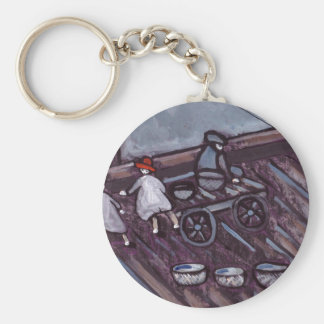 ON THE QUAYSIDE WITH GRANDAD KEYCHAIN